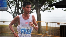 Photo during SEA Games 2015 Marathon (Ashley Liew) - photo credit Sum Chee Ming
