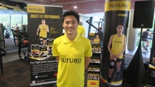 Mok Ying Ren at the recent launch of3M Team FUTURO™ Challenge