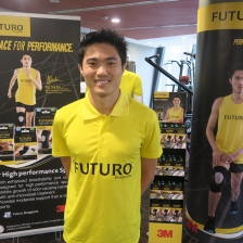 Mok Ying Ren at the recent launch of 3M Team FUTURO™ Challenge