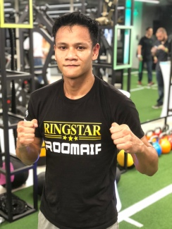 National Boxer & 2018 Straits Times Athlete Of The Year nominee, Muhamad Ridhwan